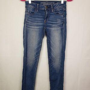 Pants - AMERICAN  EAGLE Super Stretch Jeans  Size 2